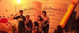 งานศิลปะหัตถกรรมนักเรียนภาคใต้ ๑๔ จว. ครั้งที่๖๑ ชุมพรเป็นเจ้าภาพ ครูอ้อนจัดเต็มแสดง สาธิตเปเปอร์มาเช่ ลดโลกร้อน