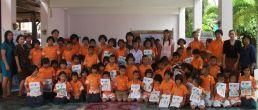 สอนศิลป์ฟรี!!!…ครั้งที่ 3 วันอังคารที่ 4 ธันวาคม 2555 ณ ร.ร.บ้านหาดภราดรภาพ ต.ปากน้ำ จ.ชุมพร  (คลิกอ่าน)
