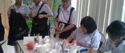 WorkShop PaperMache ศิลปะจากกระดาษที่ใช้แล้ว ช่วยลดโลกร้อน โครงการคิดใสไทยแลนด์ ซีซั่น3 By P'Sax tv360′ ณ อาคารมาลีนนท์ วิกช่อง 3 พระราม 4 กทม. 5/7/60