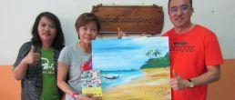ครูยุ&ครูรัณ สัญจรมาอบรมแฟรนไชน์สอนศิลปะ-เปเปอร์มาเช่บ้านรักศิลปะชุมพร พร้อมเปิดสอนศิลป์ย่านประชาชื่น-สามัคคี กทม. โทร.084-097-9415, 081-134-9373
